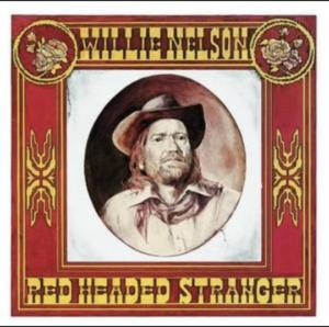 willie nelson red haired stranger album art