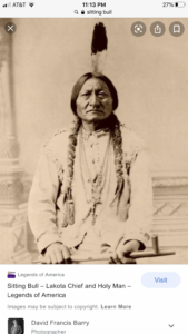 image of Sitting Bull SIoux Chief and Medicine Man